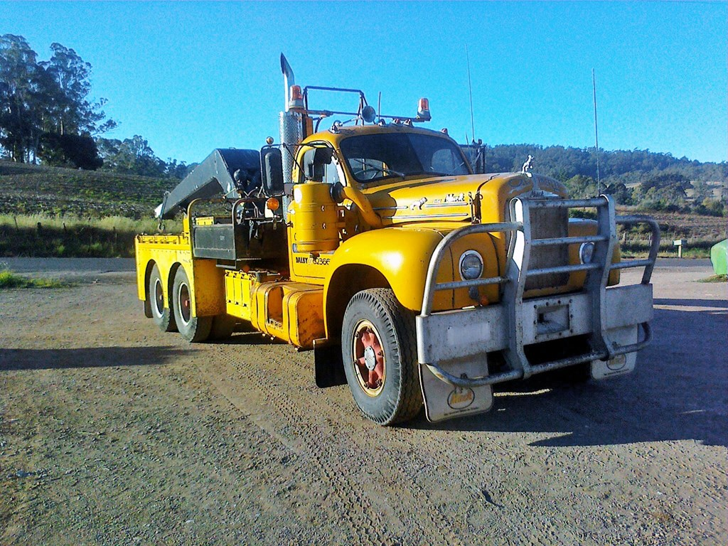 1968 Mack Truck : Mack pictures to pin on pinterest daddy