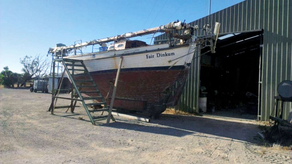 1965 colin archer timber double ender for sale for Archer fish for sale