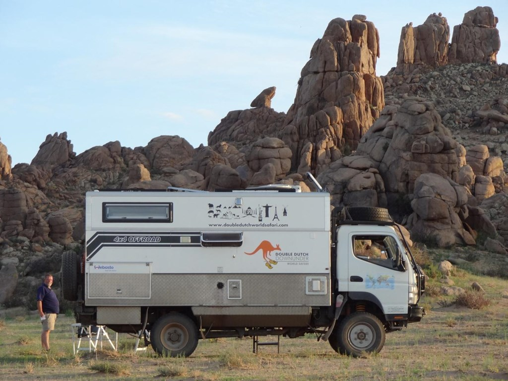 MITSUBISHI CANTER 2009 FG 84 4X4 TURBO DIESEL CAMPER for sale $165,000