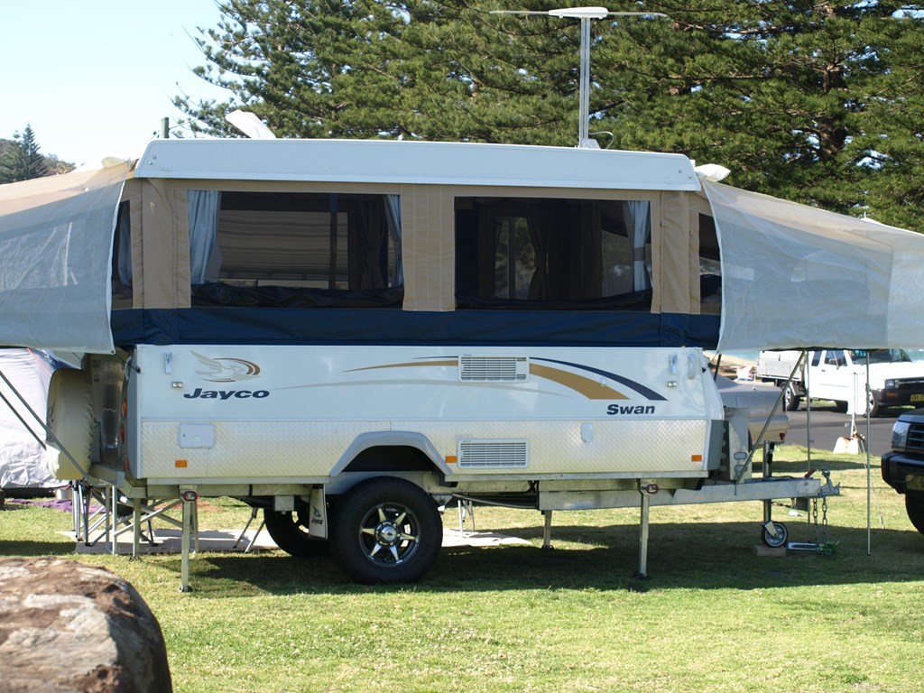 Wonderful 2015 Jayco Swan Outback Caravancamper For HIRE AIRCON HOT SHOWER