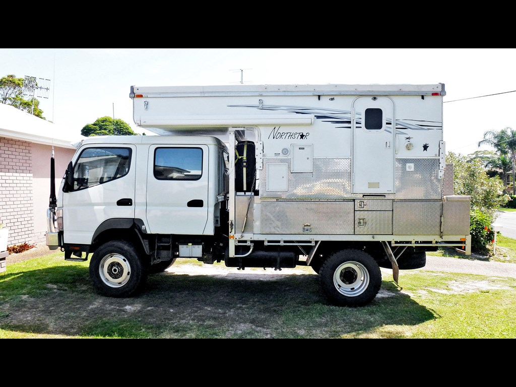 Images of Fuso 4x4 Camper - industrious info