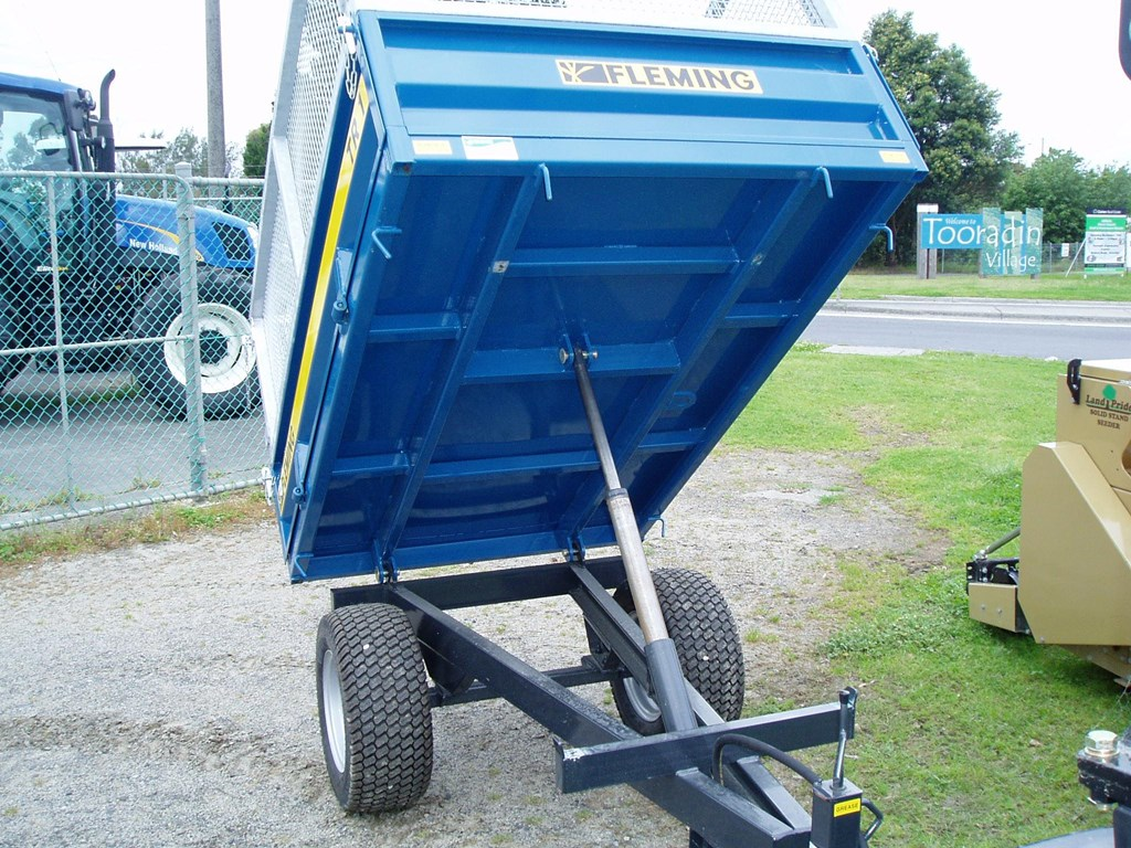 2013 Fleming Tr1 Hydraulic Tipping Trailer For Sale