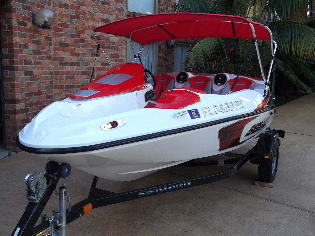2007 sea doo 150 speedster jet boat for sale for Jet fishing boats for sale