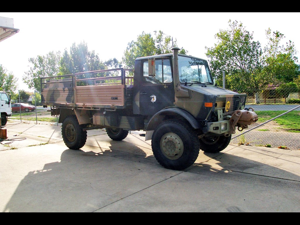 Mercedes unimog for sale australia for Mercedes benz unimog for sale usa