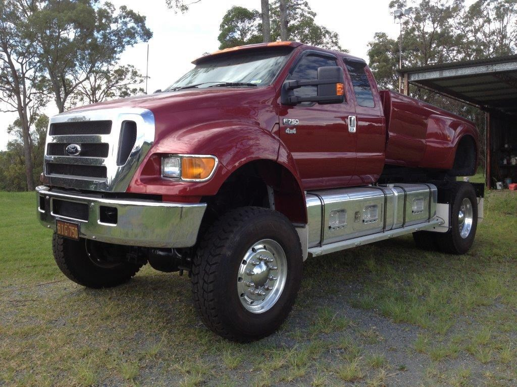 F750 4x4 Conversion Autos Post