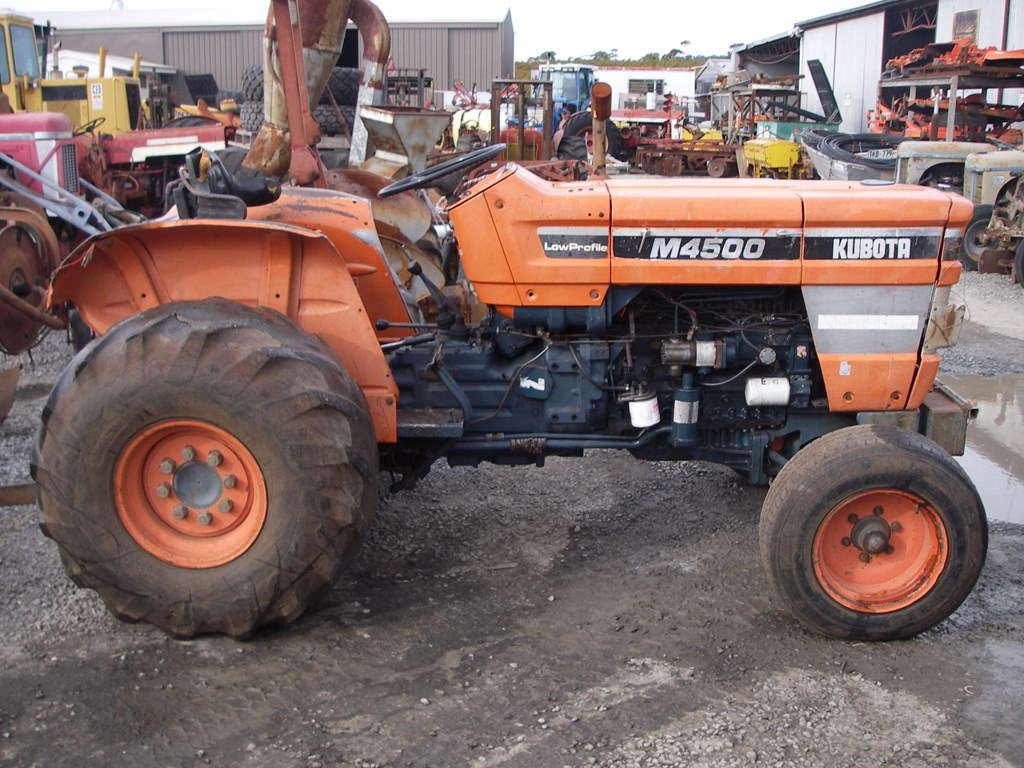 Kubota Tractor Salvage : Kubota m tractor of wrecking parts only for sale