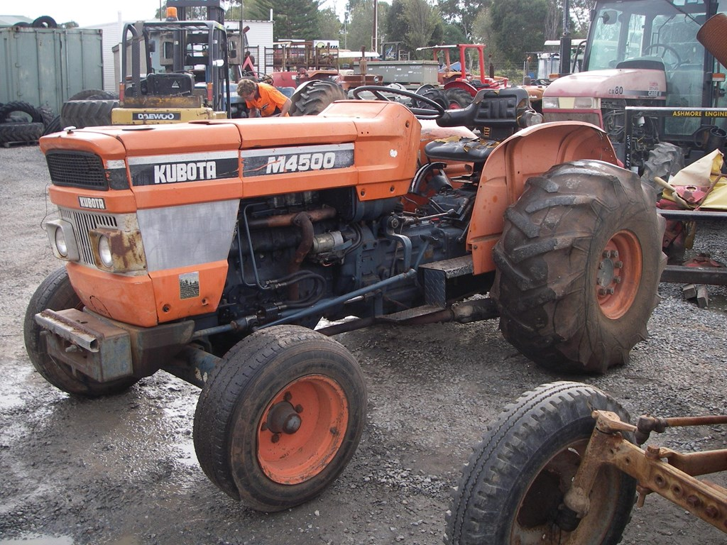 Kubota Tractor Parts : Kubota m tractor of wrecking parts only for sale