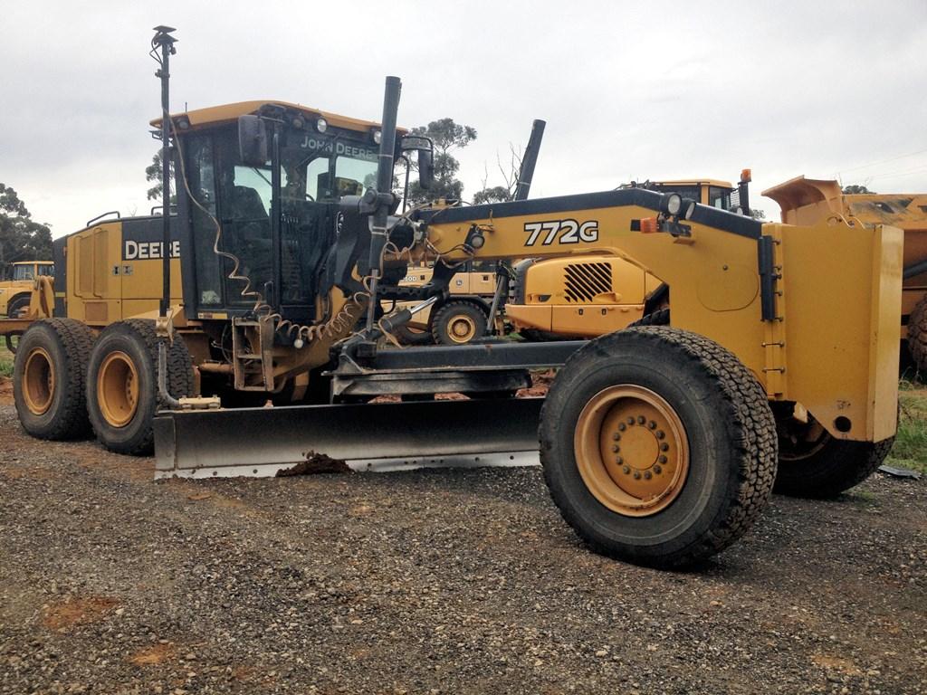John Deere Grader 772g For Sale Trade Earthmovers Australia