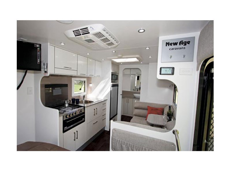 Simple NEW AGE BR19ES2 BIG RED RV Towing Caravans Specification