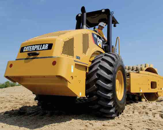 Caterpillar Cs78b Rollers Self Prop Smooth Drum Specification
