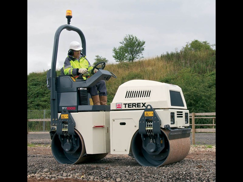 Terex Tv1000 Rollers Tandem Vibrating Specification