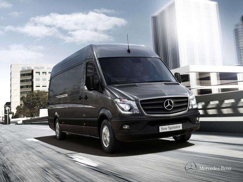 mercedes benz sprinter 416 cdi mwb van trucks on road. Black Bedroom Furniture Sets. Home Design Ideas