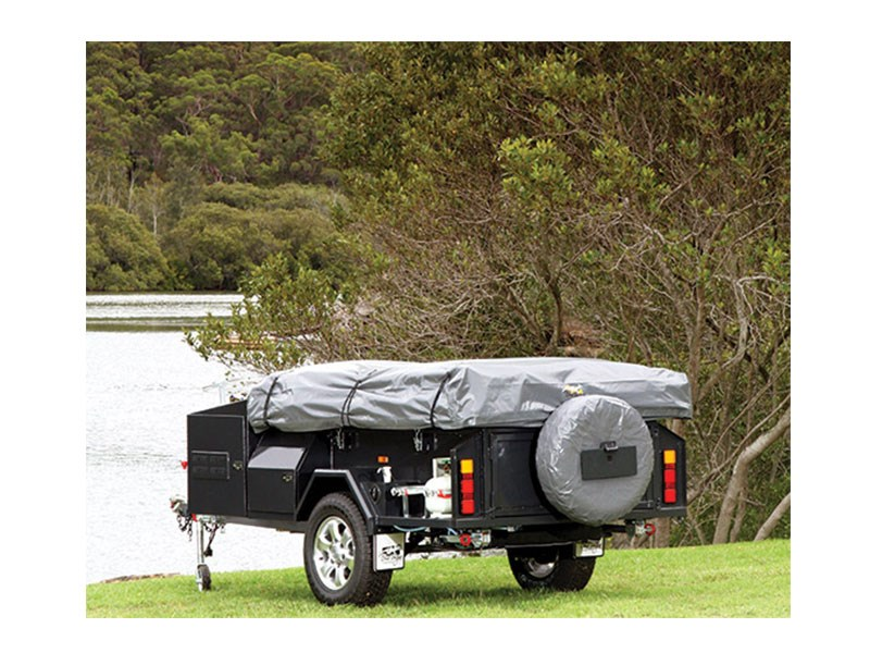 new blue tongue camper trailers off road trekka camper trailers for sale. Black Bedroom Furniture Sets. Home Design Ideas